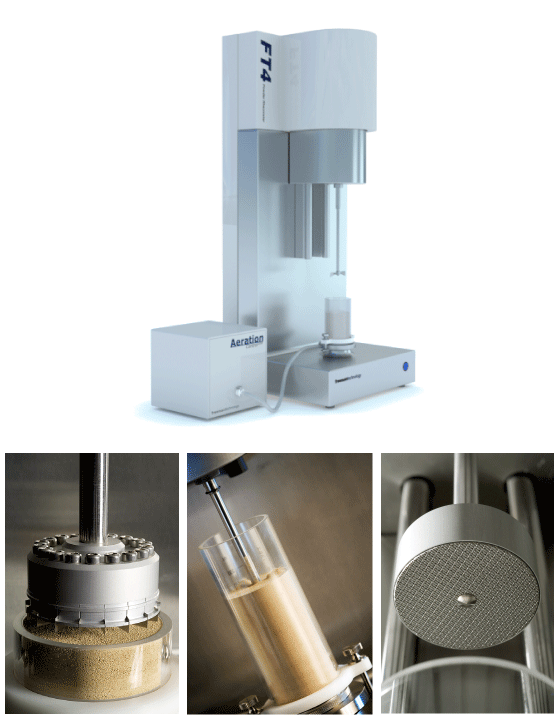 FT4 Powder Rheometer - Universal Powder Flow Tester